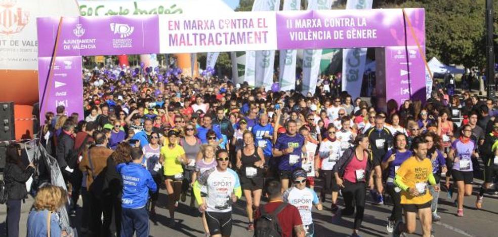 Búscate en la II Marcha contra la violencia de género de Valencia