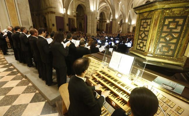 La música de órgano suena con fuerza en Valencia