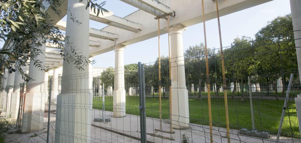 El Ayuntamiento inicia hoy la rehabilitación de dos tramos deteriorados del jardín del Turia