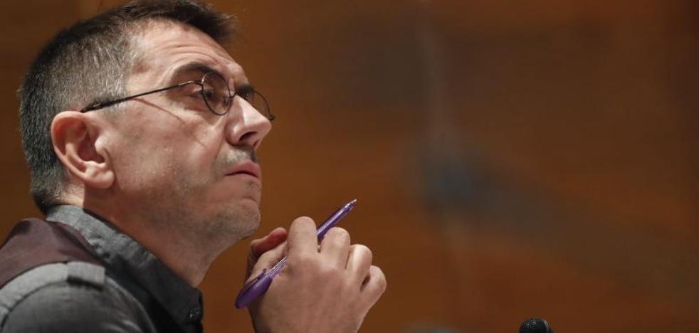 Monedero compara la comisión de investigación del Senado con las «cortes franquistas»