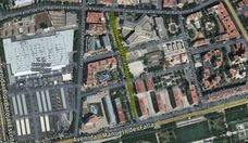 Un hombre agrede con un arma blanca a su compañero de piso en Valencia
