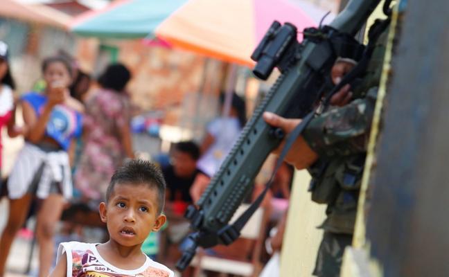 Amazonas en pie de guerra
