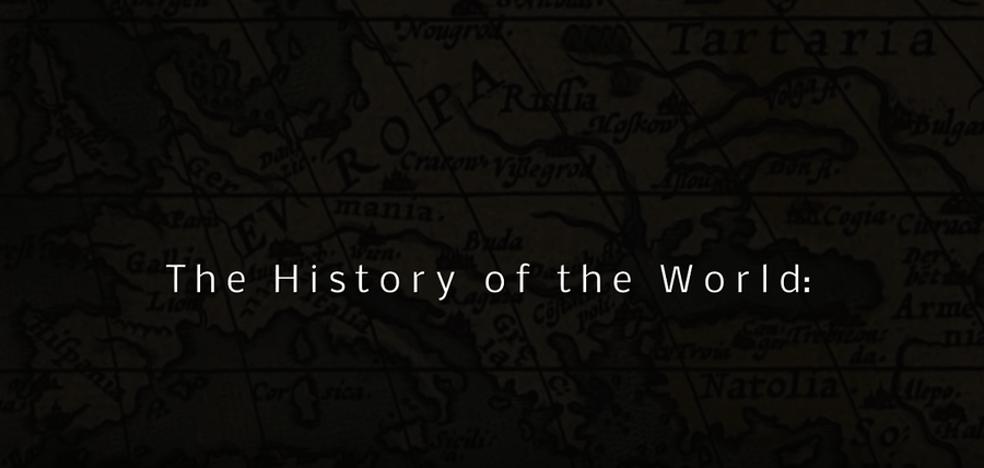 El espectacular vídeo que cuenta la historia del mundo desde el año 1 al 2016 en tan solo 2 minutos