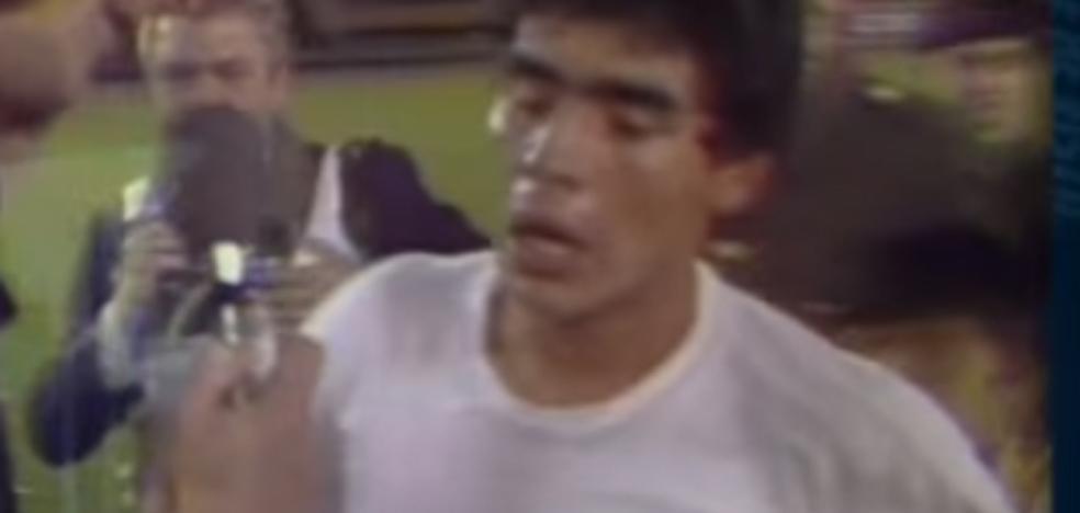 El día que Maradona fue jugador del Valencia