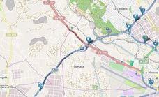Un accidente en la A-7 en Paterna provoca retenciones en sentido Alicante