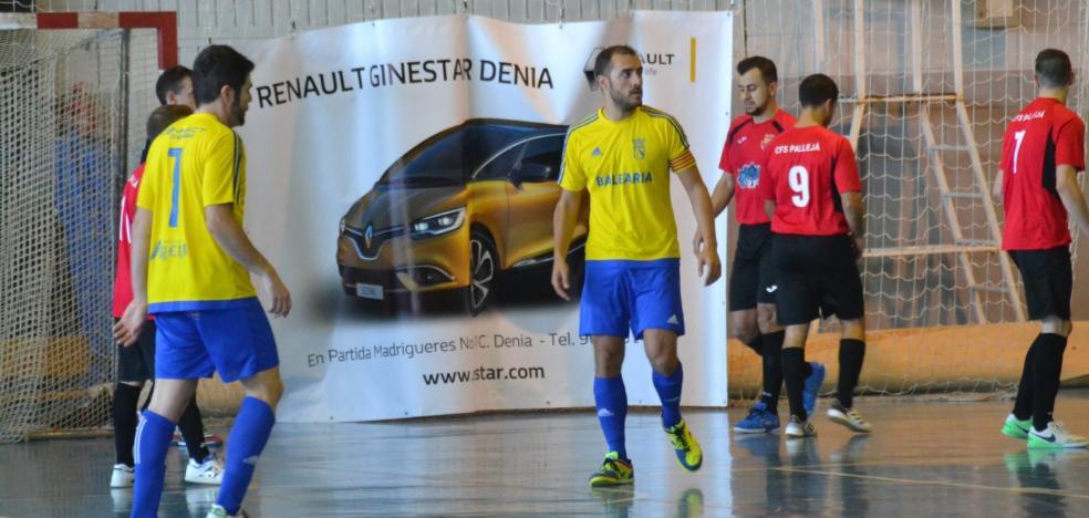 Demasiado castigo para el Dénia Futsal ante el Pallejà