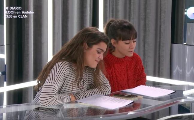 Amaia y Aitana cantan juntas 'Con las ganas' en Operación Triunfo (Gala 4)
