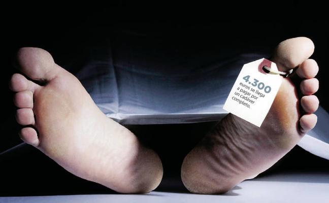 El macabro comercio de cadáveres