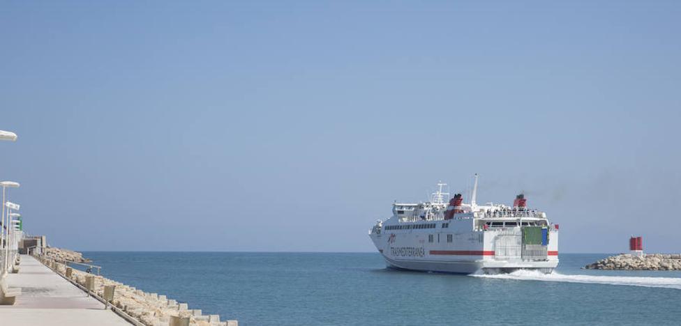 La línea marítima entre Gandia e Ibiza continuará el próximo año