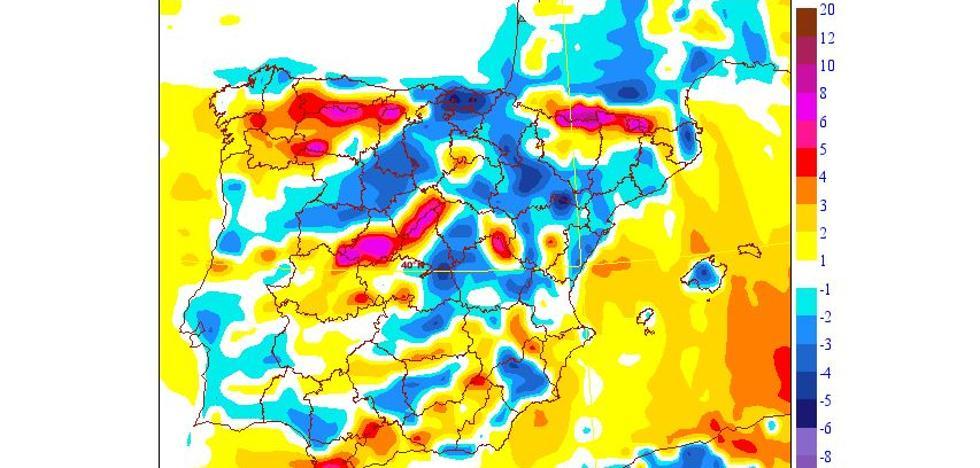 Las heladas dejan hasta -6º en Ademuz y -3'6º en Chiva