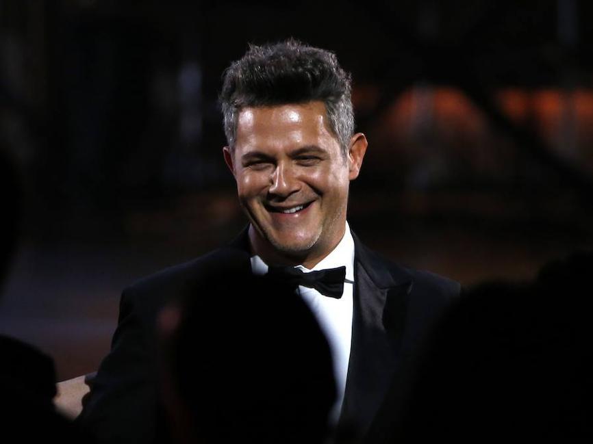 Fotos de Alejandro Sanz como persona del año 2017 de los Grammy Latino