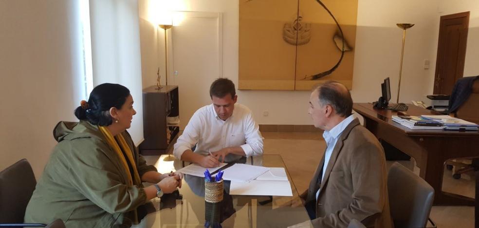 Xàtiva firma un convenio para el ciclo de Jardinería