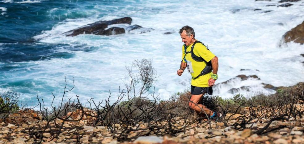 Un trotamundos en Valencia a por su maratón doscientos