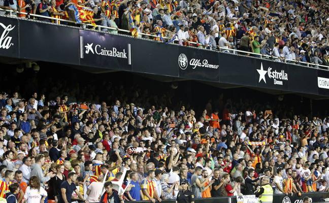 El club de Mestalla incrementa en cien su número de socios en menos de una semana