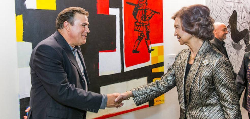 El zamorano Miguel Ángel Villarino, premio BMW de Pintura