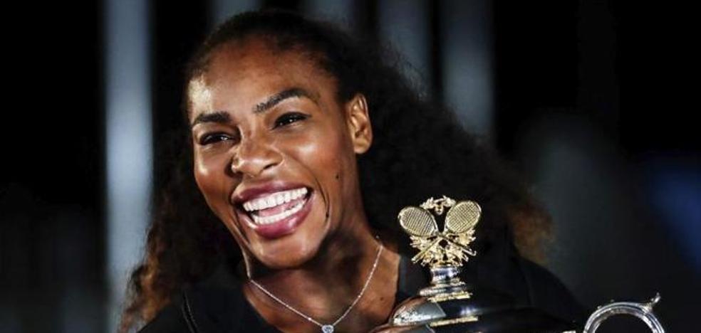 Serena Williams se casa hoy entre 'celebrities'