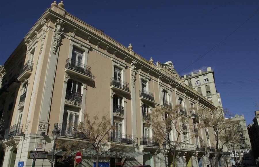El Valencia Palace y el Hotel Inglés se renuevan