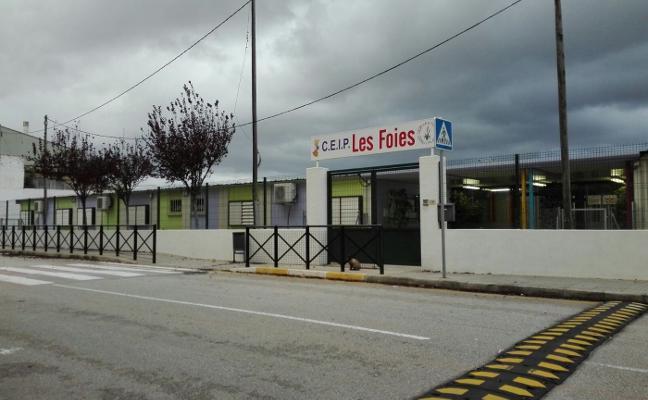 Gandia reclama a Educación que Les Foies sea prioritario en el plan Edificant