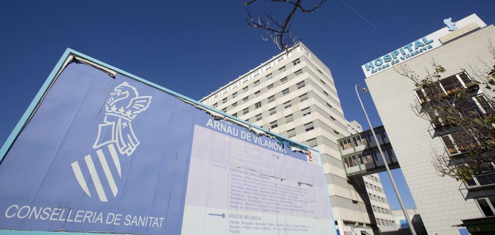 El Hospital Arnau inicia obras en vísperas de la llegada de la gripe y recurre a camas de Llíria