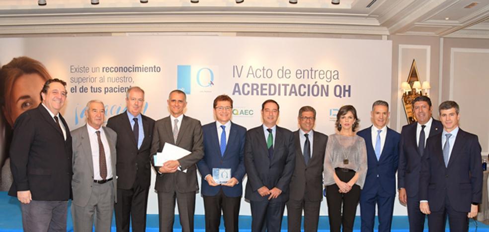 Innova Ocular Clínica Vila obtiene la acreditación QH de excelencia en calidad asistencial y seguridad del IDIS