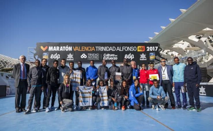 Los favoritos para ganar el Maratón de Valencia y batir el récord en 2017