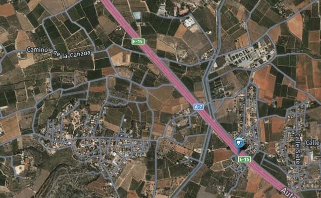 Un hombre muere al chocar un turismo y una furgoneta en la A-7 en Picassent