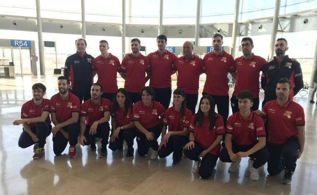 La Selección Valenciana de Pilota sale rumbo al Mundial de Colombia
