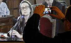 El TSJCV rechaza conceder el tercer grado a Tina Sanjuán, la mano derecha de Rafael Blasco