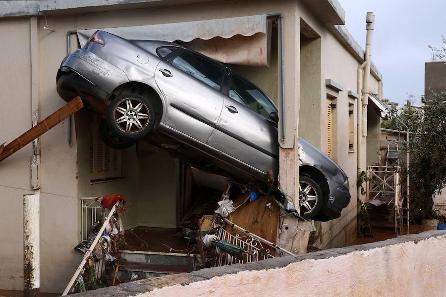 Fotos de las inundaciones en Grecia