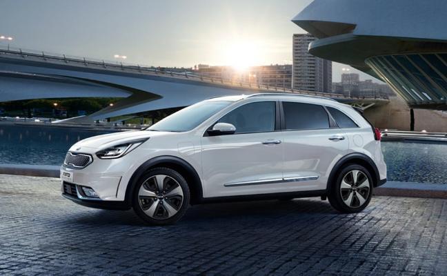 Kia Mercamoto ya cuenta con  el SUV Niro híbrido enchufable