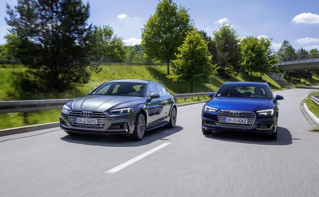 Audi lanza modelos de gas natural