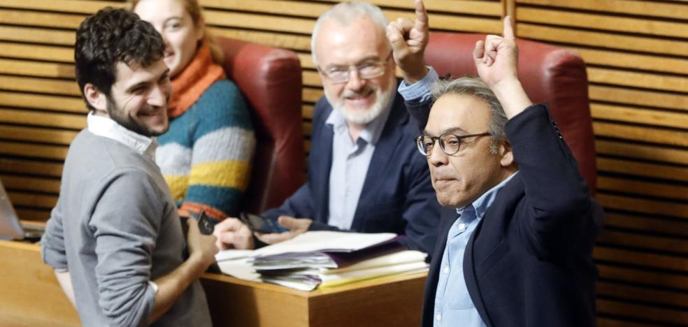 Los cuatro tránsfugas de Cs salvan los presupuestos de Puig y Oltra