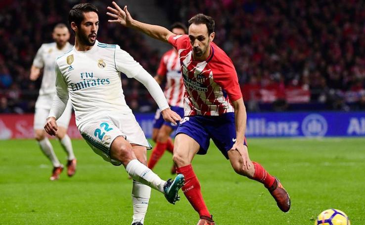 Las mejores imágenes del Atlético-Real Madrid