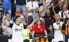 La imbatibilidad del Valencia, en imágenes