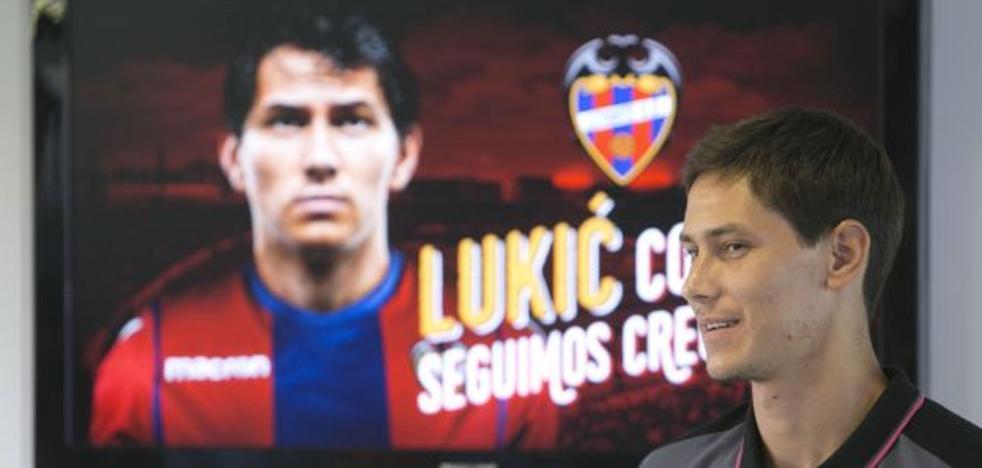 Lukic, tres semanas de baja