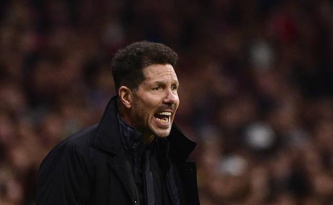 Simeone: «Ha sido un empate justo contra el mejor equipo del mundo»