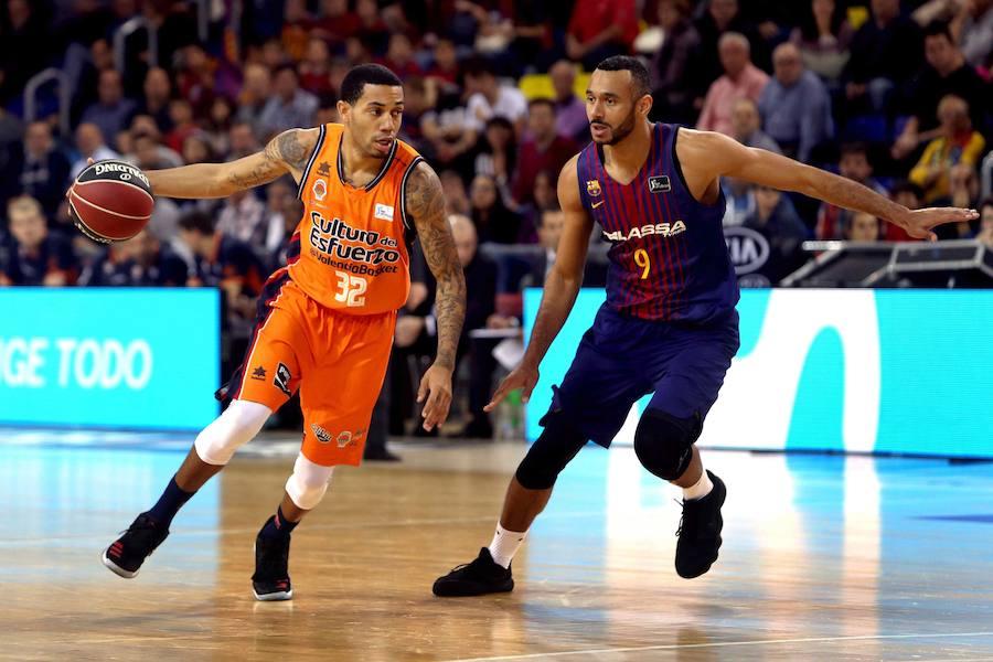 Fotos del Barcelona Lassa-Valencia Basket