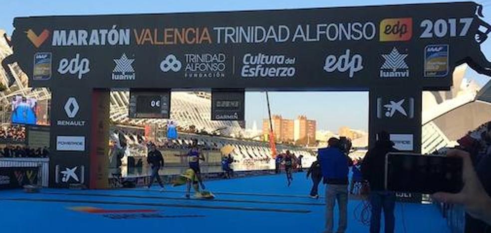 Un récord de aperitivo en la 10K Valencia