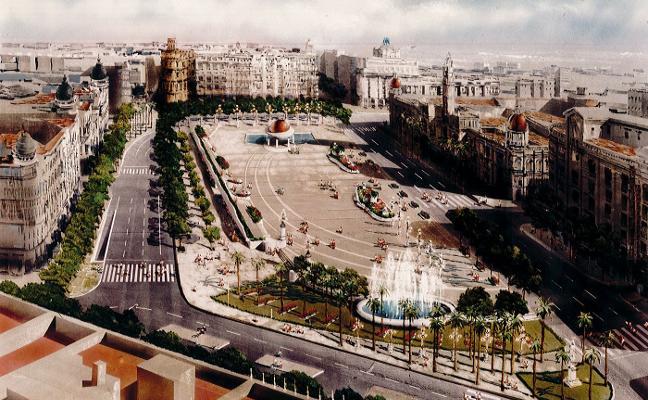 Mil ideas para cambiar la plaza del Ayuntamiento de Valencia