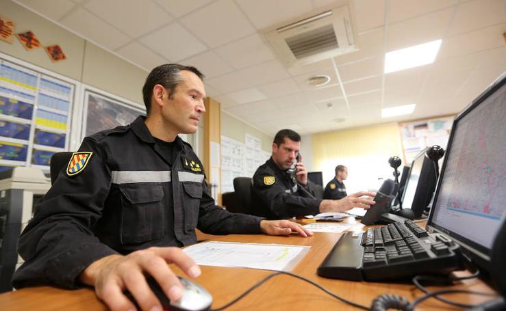 Fotos del tercer Batallón de Intervención de Emergencias de la UME en Bétera