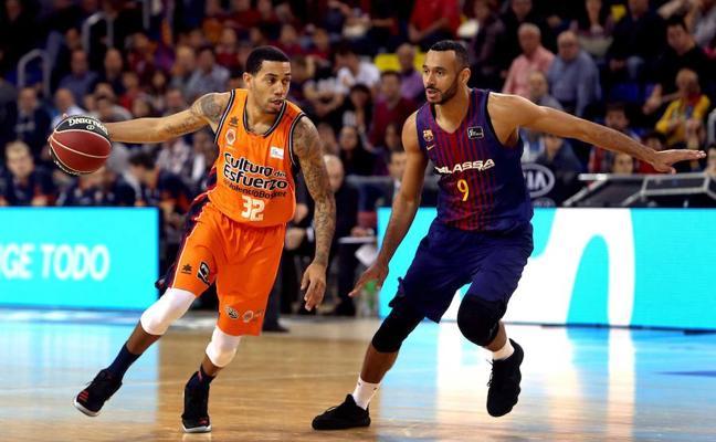 El conjunto taronja se queda corto para pelear el triunfo con el Barcelona (79-74)