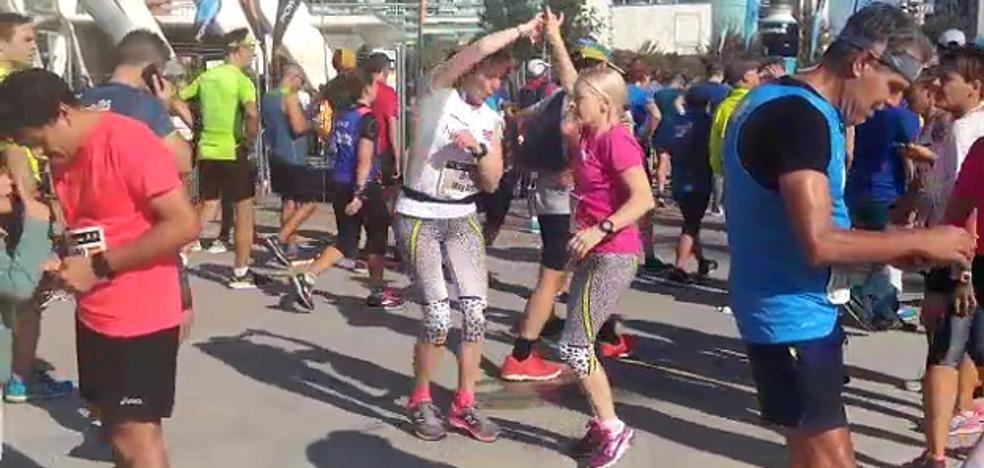 Así se celebra un maratón