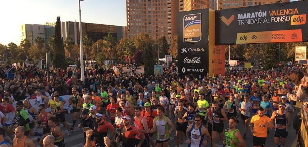 El Maratón de Valencia 2017, en imágenes