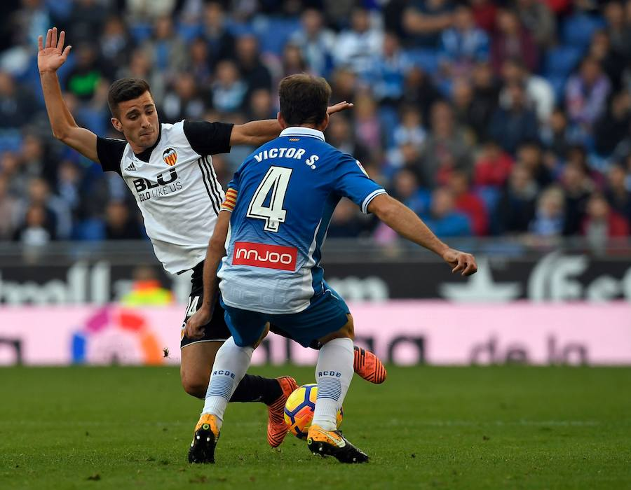 Fotos del partido Espanyol - Valencia CF (0-2)