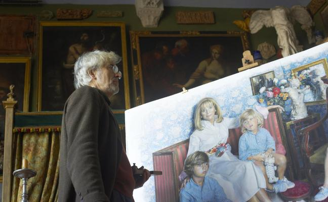 Massoni considera un reto retratar a Rita Barberá