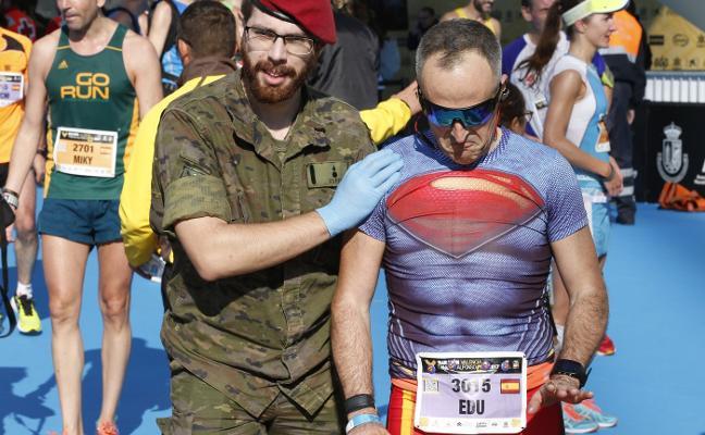 Hasta superman necesita médico