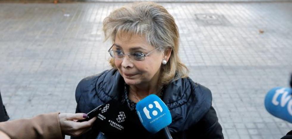María José Alcón niega ante el juez el blanqueo en el PP de Valencia