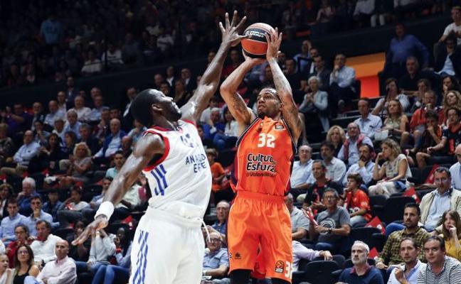 El Valencia Basket pone a la venta las entradas para los seis partidos de diciembre