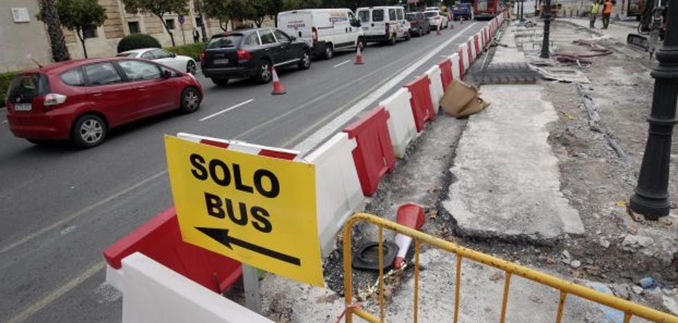 El Ayuntamiento de Valencia recomienda «buscar itinerarios alternativos» para sortear los atascos