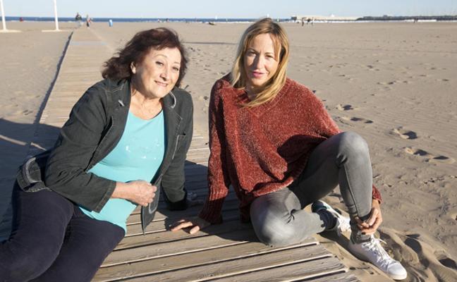 En familia con Rosa Palau y Olga Bru